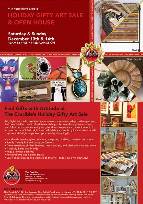 Crucible Holiday Gift Sale
