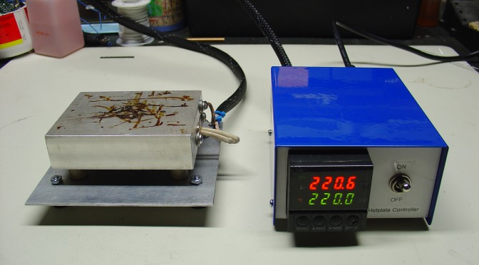 DIY PID Controlled Soldering Hotplate | MightyOhm