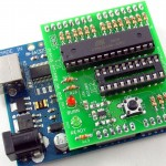 AVR HV Rescue Shield with ATmega168 target