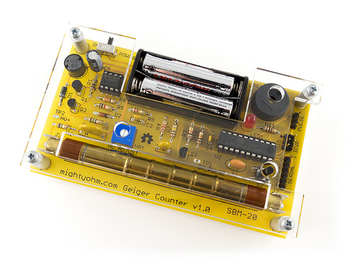 Introducing the MightyOhm Geiger Counter Kit