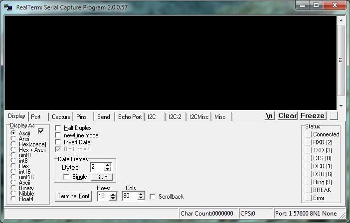 serial port data logger software free