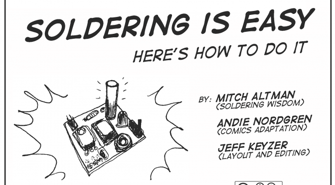 Soldering is Easy: New Czech translation and updated, colorized Russian translation!